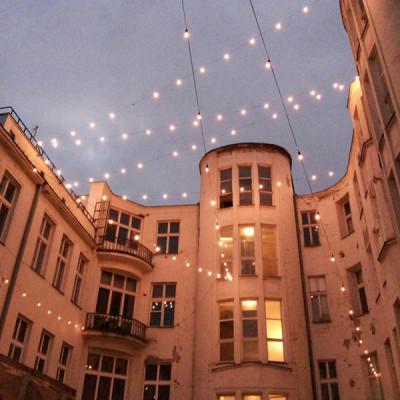 Girlandy - patio